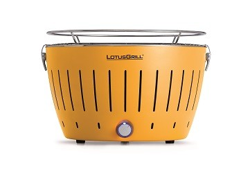 "Regular Yellow LotusGrill (""340mm"" diameter) + Smokeless Charcoal (""1kg"") + Lighter Gel (""200ml"")"