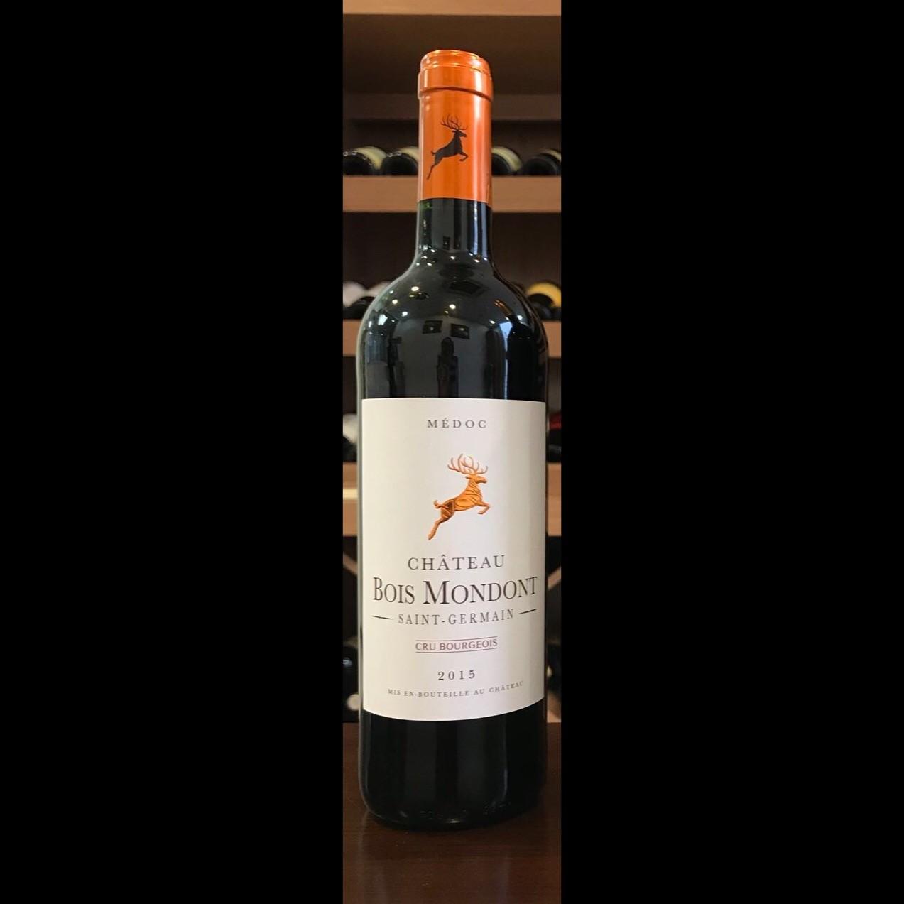 "Chateau Bois Mondont 2015 (""6x750ml"" bottles/carton)"