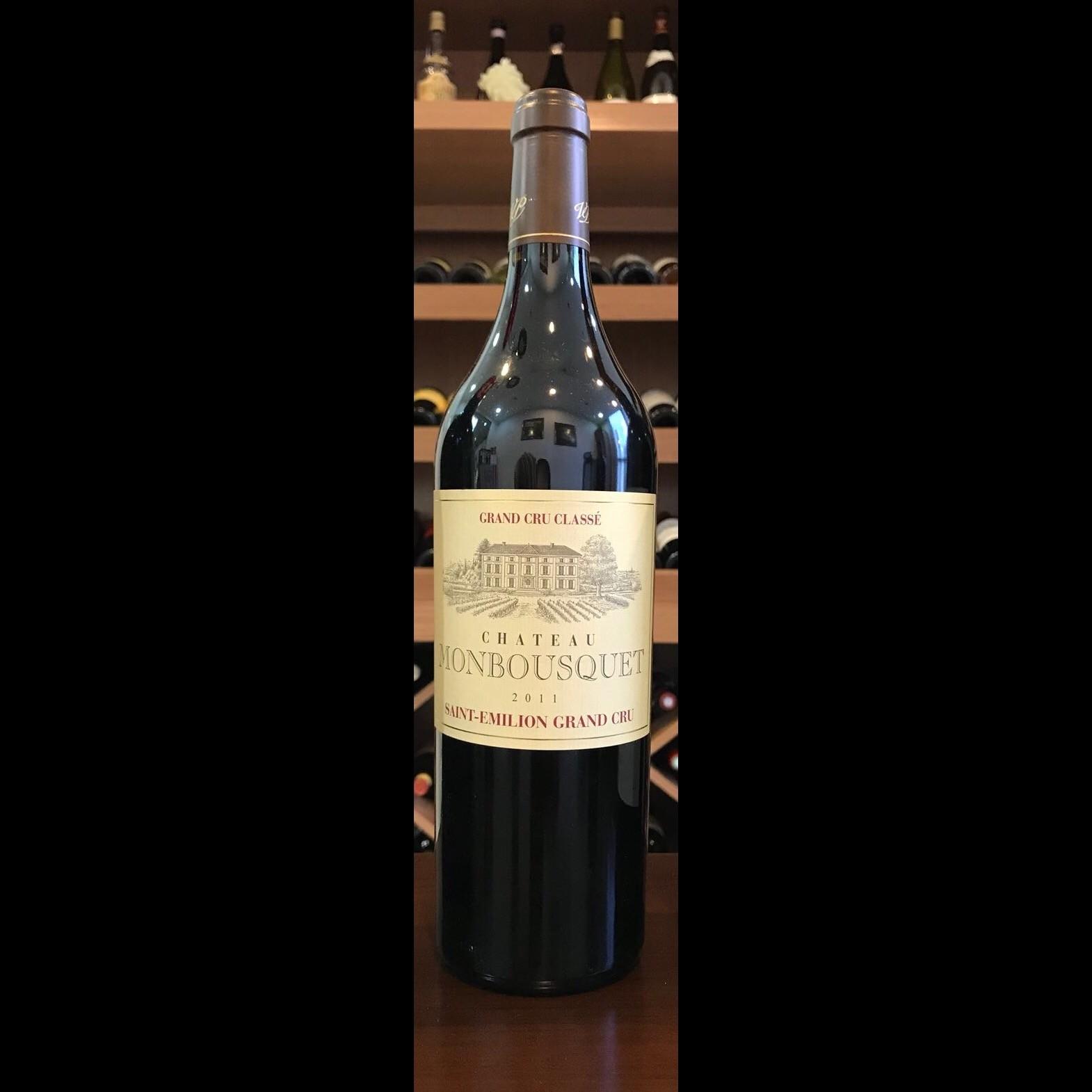 """Chateau Monbousquet 2014 (""""6x750ml"""" bottles/wooden case)"""