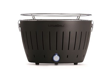 "Regular Grey LotusGrill (""340mm"" diameter) + Smokeless Charcoal (""1kg"") + Lighter Gel (""200ml"")"