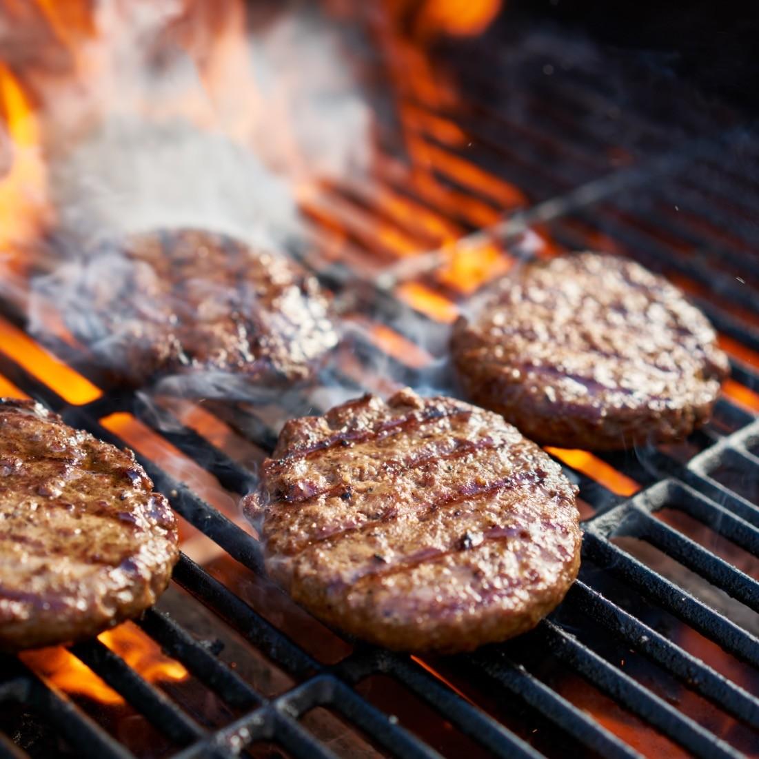 """Premium US Beef Patties (""""8oz x 4pieces""""/pack)"""