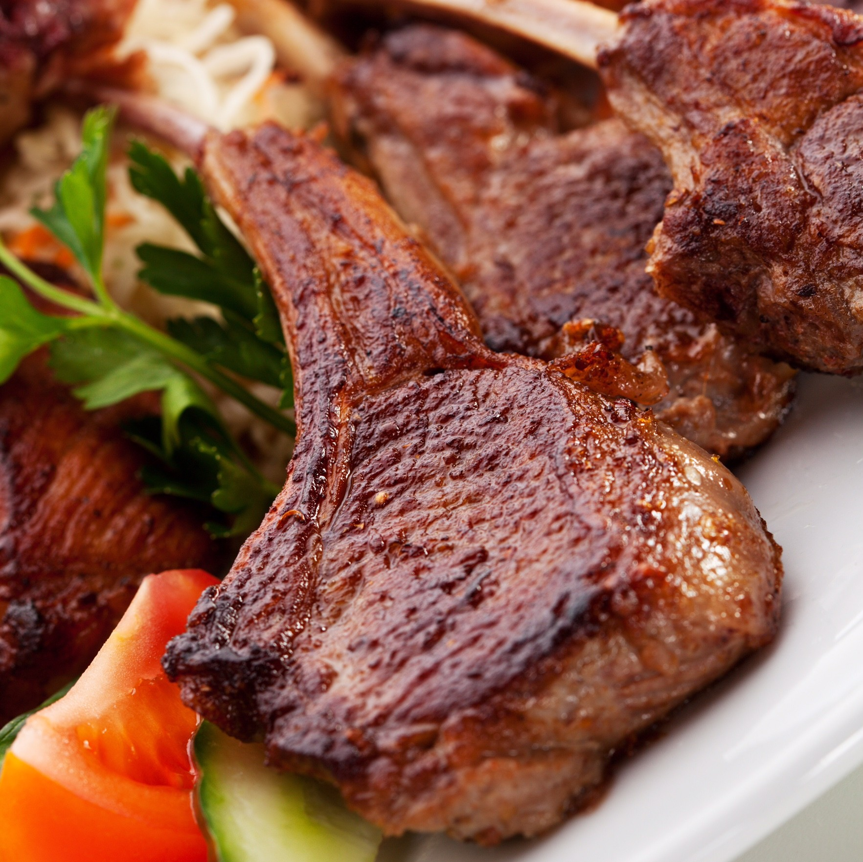 "New Zealand French Cut Cap-Off Lamb Chops (2pcs/""~142g"")"