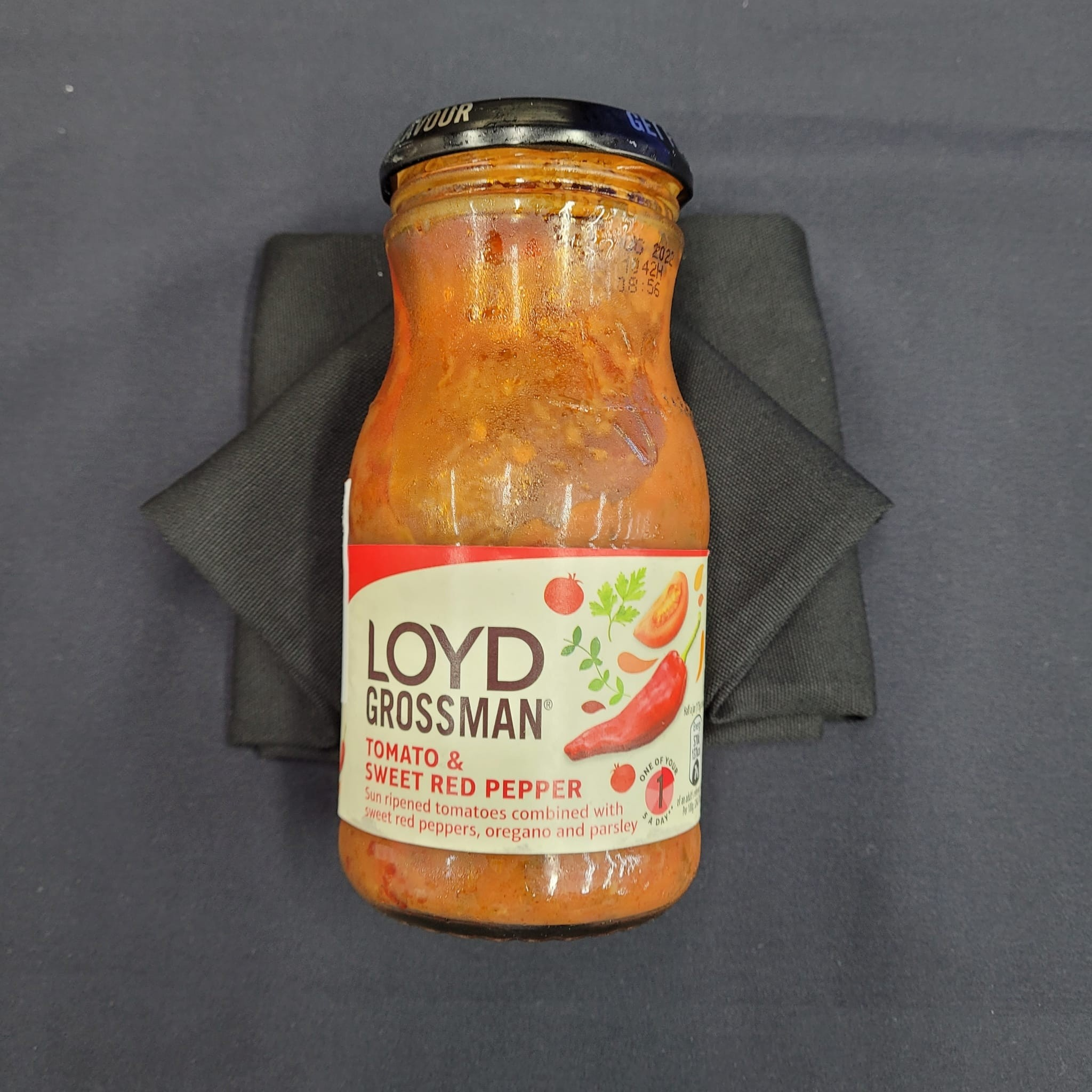 "-NEW-  UK Tomato & Sweet Red Pepper Pasta Sauce (""~350g"")"