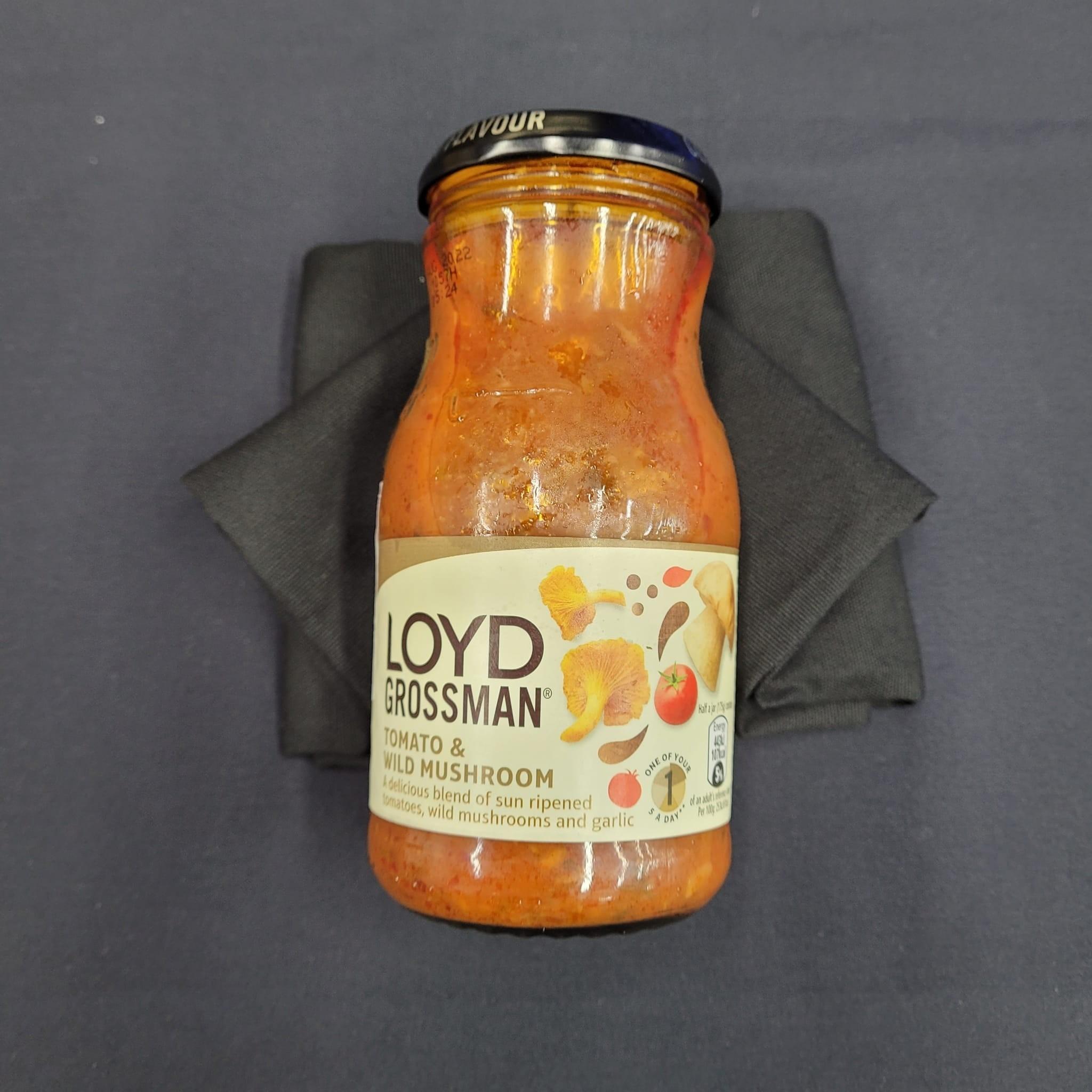 """-NEW-  UK Tomato & Wild Mushroom Pasta Sauce (""""~350g"""")"""