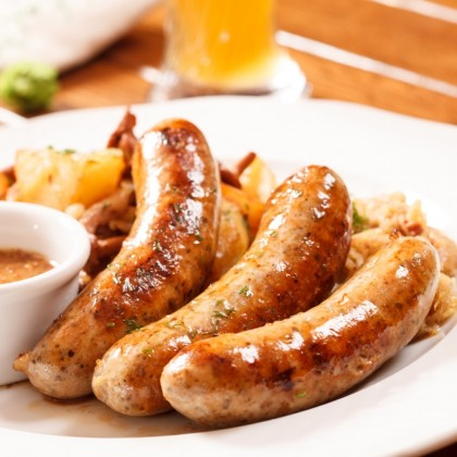 "-NEW- UK Old English Pork Sausage (""400g""/6sausage pack)"