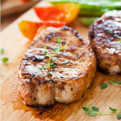 "Spanish Duroc Boneless Pork Loin (""6oz/8oz/10oz"")"