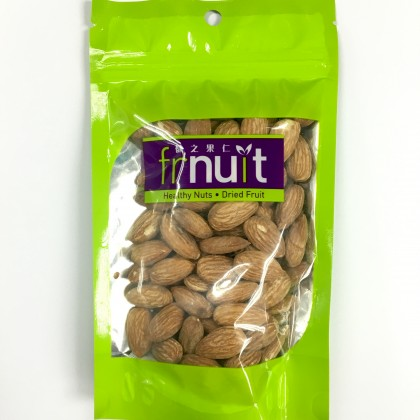 "Roasted Salted American Almonds - US (""110g""/ziplock pack)"