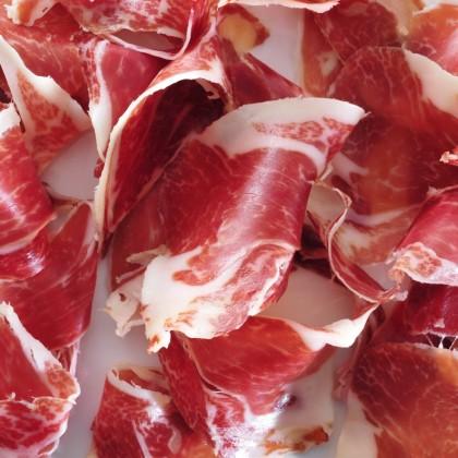 "Jamon de Cebo Iberico - Hand Sliced Iberico Cebo Ham - 24 months (""100g""/pack)"