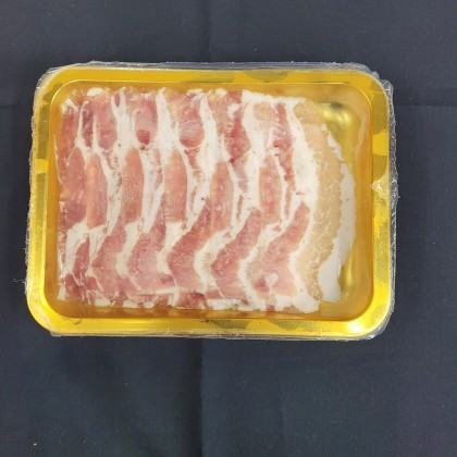 """-NEW-  Korean Organic Pork Belly Sliced (""""~230g"""")"""