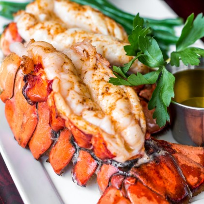 "-NEW- US Wild Caught Lobster Tails (""~303g""/2 pieces/pack)"