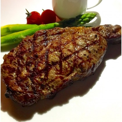 "USDA PRIME THICK CUT Rib Eye Steakhouse Steaks - ~1.5"" Thick (""~24oz"")"