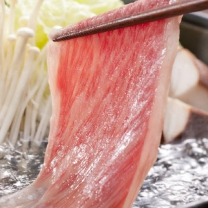 "Japanese A4 Wagyu Rib Eye Hotpot Slices (""~350g""/pack) - If out of stock, please call to request"