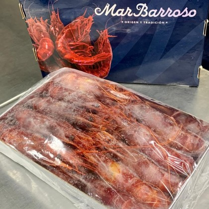 "-NEW- Spanish Wild Caught Red Prawns Carabineros (""12-15pieces/1kg box"")"