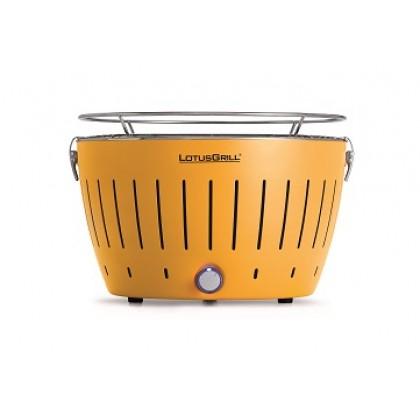 """標準黃色 LotusGrill 燒烤爐 (直徑""""340mm"""" ) + 無煙木炭 (""""1千克"""") + 助燃凝膠(""""200毫升"""")"""