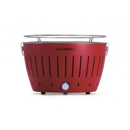 """標準紅色 LotusGrill 燒烤爐 (直徑""""340mm"""" ) + 無煙木炭 (""""1千克"""") + 助燃凝膠(""""200毫升"""")"""