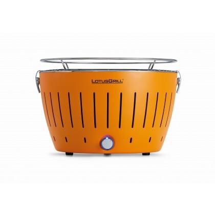 """標準橙色 LotusGrill 燒烤爐 (直徑""""340mm"""" ) + 無煙木炭 (""""1千克"""") + 助燃凝膠(""""200毫升"""")"""
