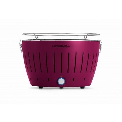 """標準紫色 LotusGrill 燒烤爐 (直徑""""340mm"""" ) + 無煙木炭 (""""1千克"""") + 助燃凝膠(""""200毫升"""")"""